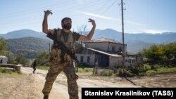 Luptători voluntari în Nagorno Karabah