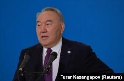 Former Kazakh President Nursultan Nazarbaev