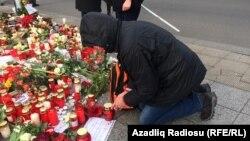 На місці нападу в Берліні, фото 22 грудня 2016 року