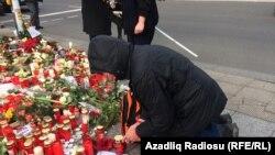 На месте нападения в Берлине, фото 22 декабря 2016