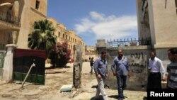 Бенгази қаласындағы жарылыс болған жер. Ливия, 10 мамыр 2013 жыл. (Көрнекі сурет)