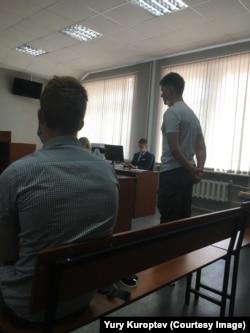 Александр Шабарчин произносит последнее слово