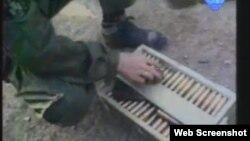 Snimke otkrivenog oružja u humanitarnom konvoju prikazane od strane obrane