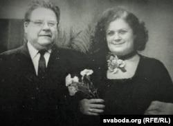 З народнай артысткай СССР Н. Ткачэнка