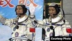 Кітайскія астранаўты будуць лётаць цяпер з жанчынамі 06 верасьня 2008
