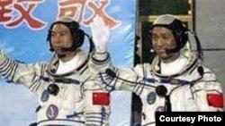 Kineski astronauti, fotografija iz arhive