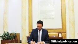 Ministar spoljnih poslova i dijaspore Kosova Gljauk Konjufca