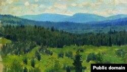 Апалінарый Васьняцоў, «Уральскі краявід» (1891)