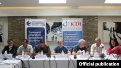 Pamje nga takimi i sotëm i organizuar nga KDI dhe TIK në Prishtinë