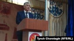 Профессор Канат Уркаш уулу Мамбеталиев. 27.10.16.