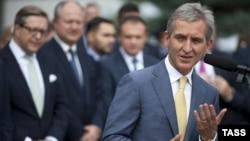 Premierul Iurie Leancă la inaugurarea gazoductului Iaşi-Ungheni