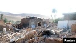 У місті Бушегрі після землетрусу, відеокадр 9 квітня 2013 року