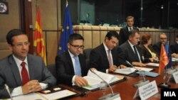 Совет за стабилизација и асоцијација на Македонија со ЕУ во Брисел.