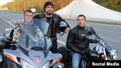 Байкери з клубу «Нічні вовки» у Словаччині, 30 квітня 2015 року