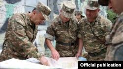 Фотография предоставлена пресс-службой Минобороны Армении