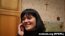 Наста Палажанка. Пасьля вызваленьня з турмы КДБ