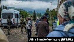 Обыск в Крыму. Архивное фото