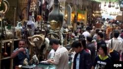 Urumçidə bazar