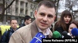 Программный координатор организации Amnesty International в Молдове Игорь Стойко. Кишинев, 3 апреля 2013 года.