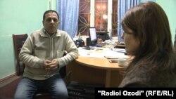 Беседа журналиста Радио Озоди с Шамсиддином Джалоловым