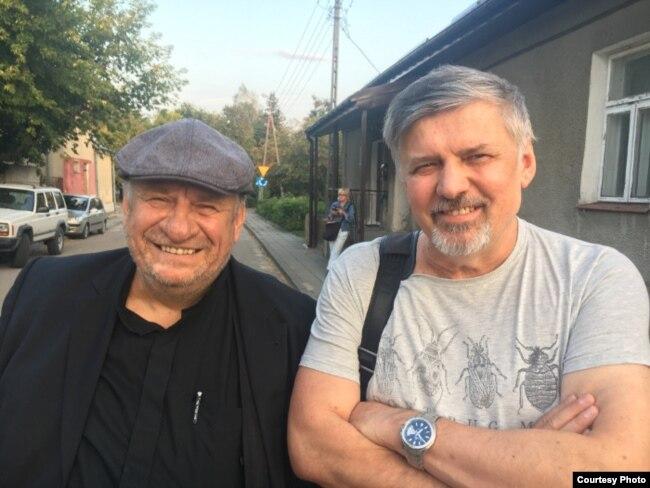 Лёнік Тарасэвіч і Ян Максімюк. Крынкі, 31 жніўня 2018