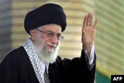 Али Хаменеи. Тегеран, январь 2015 года