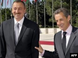 İlham Əliyev və Nikola Sarkozi, Bakı, 7 oktyabr 2011