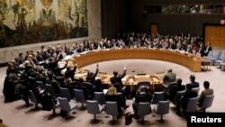 Pamje nga një seancë e mëparshme e Këshillit të Sigurimit të Kombeve të Bashkuara