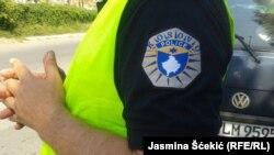 Pamje e një pjesëtari të policisë së Kosovës