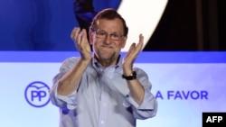 Lideri i Partisë Popullore të Spanjës, Mariano Rajoy.