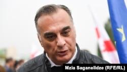 Zaal Udumashvili, a leader of the United National Movement