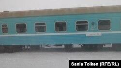 Вагон пассажирского поезда. Иллюстративное фото.