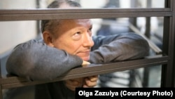 Михаил Савва в суде во время одного из заседаний по своему делу