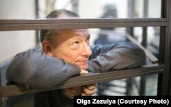 Михаил Савва в зале суда