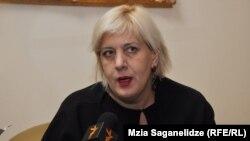 Представитель ОБСЕ по свободе СМИ Дунья Миятович, 2012.