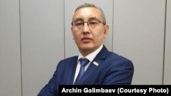 Глава Ассоциации пунктов обмены валюты Арчин Галимбаев. Алматы, 8 августа 2019 года.