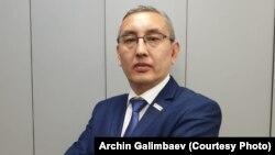 Ақша айырбастау пунктері қауымдастығының басшысы Арчин Ғалымбаев.