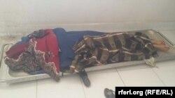 آرشیف، جسد یک زن در ازرگان که از سوی افراد مسلح ناشناس کشته شده است