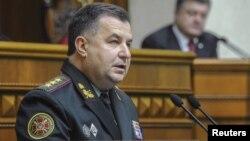Ukrainanyň goranmak ministri Stepan Poltorak