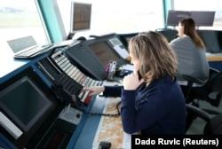 Kontrolori leta na Aerodromu Sarajevo