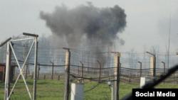 Пожар на пороховом складе в Урмане, Башкирия, фото bashinform.ru
