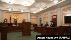 Rusiye Yuqarı mahkemesinde Qırımtatar Milliy Meclisiniñ yasağına dair şikâyet arizasınıñ baqılması, 2016 senesi sentâbr 29 künü