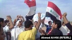 مظاهرة في الانبار - من الارشيف