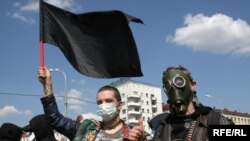 "The annual ""Chornobyl Path"" march has been held in Minsk since 1988. (file photo)"