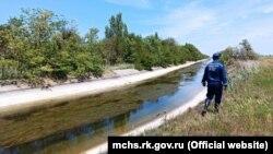 Девочка пропала в районе Северо-Крымского канала