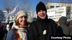 Перьмде өткен Путинге қарсылық көрсету шарасы. 26 ақпан 2012 жыл