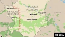 Нохч-ГIалгIайн мехкан карта.