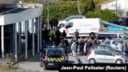 Fransa - Terror aktının baş verdiyi supermarket, Trebes, 23 mart, 2018