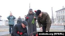 Кветкі для Палуты Бадуновай