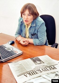 """Республика"" сайтының бас редакторы Ирина Петрушова."